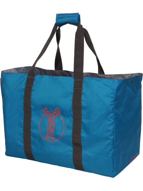 Elkline Baywatch Beach Bag aqua-redorange